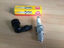 BSA B.S.A B50 SS GOLDSTAR B50 T VICTOR TRAIL NGK SPARK PLUG AND CAP FREE POST!