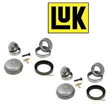 2 LuK Left+Right Front axle Wheel Bearing Kits Ball Roller Set For Mercedes SL