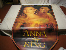 Anna and the King Jodie Foster Official Theatrical Movie Banner 88 X 48 RARE