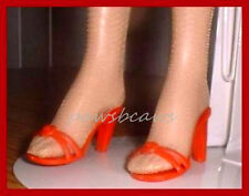 """RED High Heel Sandals SHOES fit  KITTY COLLIER DeeAnna Denton 19""""American Models"""