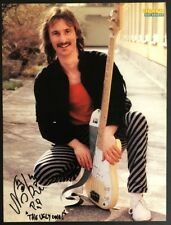 Niki Gruber Bassist Opus Rock Band AT Original Autogramm Autograph (O-233+