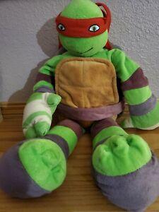 """Nickelodeon Teenage Mutant Ninja Turtles Raphael  24"""" Plush Turtle Doll TMNT"""