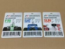 Singapore Grand Prix F1 Formula One 2009 Singtel Tickets W/O Lanyard (A1769)