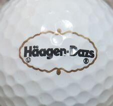 (1) Haagen-Dazs Haagen Dazs Ice Cream Logo Golf Ball