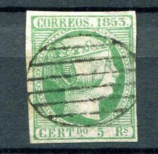 1853.Espana.edifil 20 (oder) lujo.firmado cajal.catalogo .parrilla.