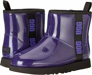 Women's Shoes UGG CLASSIC CLEAR MINI Waterproof Ankle Boots 1113190 VIOLET NIGHT