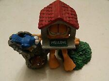 "035 1993 Danbury Mint GARFIELD ""Open House"" Figurine by Jim Davis COA"