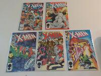 UNCANNY X-MEN #175,190,191,192,194 KEY 1st APPEARANCE NIMROD+FENRIS HIGRADE NM