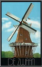 De Zwaan Windmill, Holland Michigan Tulip Festival, Visitors The Swan - Postcard