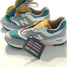New Balance X Concepts 997.5 Esplanade Gray Running Shoes M9975CN Men's Size 7