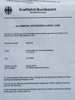 ABE und TÜV Gutachten Borbet CA 70638 KBA 45810 CA70638 TÜV Gutachten ET45