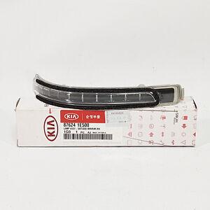876241E500 LED Side Mirror Repeater Lamp Right RH For Kia Rio 2009-2011