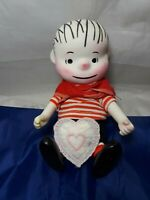 "Vintage Peanuts Pocket Doll Charlie Brown 7"" Tall"