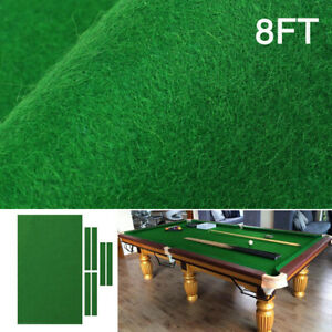 POHOVE Professional Pool Table Fits Standard 7FT 8FT 9FT,Billiards Tablecloth Faux Wool And Nylon Snooker Indoor Sports Game Table Cloth