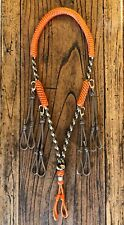 Custom Paracord Duck Goose Waterfowl Predator Call Lanyard Sitka & Orange
