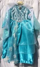 Disney Store Elsa Deluxe Limited Edition Costume Dress Size 5/6 NWT Frozen