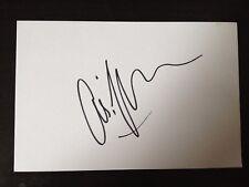 CHRIS KAMARA - SKY SPORTS FOOTBALL ANALYST - SIGNED WHITE CARD