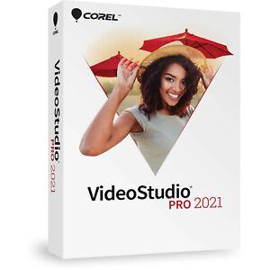 Corel VideoStudio Pro 2021 Digital Software for Windows