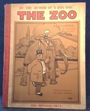 1904 The Zoo A Scamper : Walter Emanuel - illustrations by John Hassell