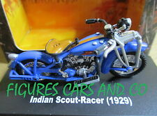 MOTO 1/32  INDIAN SCOUT RACER 1929  MOTORCYCLE MOTORRAD