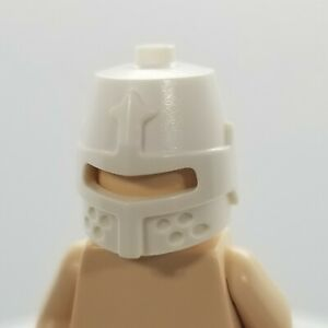 NEW LEGO   Minifigure Headgear - White Castle Helmet w/ Eye Slit (89520)
