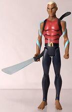 """DC Young Justice Aqualad 4"""" Figure Mattel Aqua Lad Complete Multiverse Universe"""