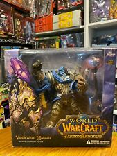 Dc Unlimited World of Warcraft Vindicator Maraad Deluxe Collector Figure Opened