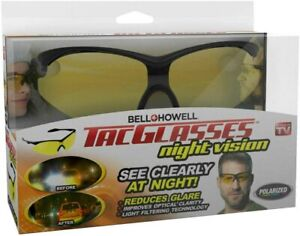 Bell + Howell Night TacGlasses Polarized Sunglasses with Hard Case