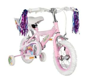 """Concept Unicorn 14"""" Wheel Girls Bicycle With Dolly Basket"""