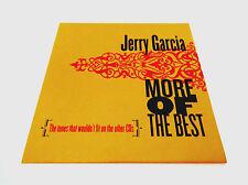Jerry Garcia More Of The Best Bonus Disc CD JGB G/K Legion of Mary Grateful Dead