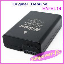 Genuine Original Nikon EN-EL14 EL14 Battery For P7000 P7100 P7700 MH-24 EN-EL14A