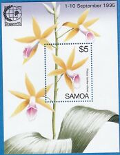 Samoa 1995 (Singapore) Orchids S-Sheet Sc-899 MNH XF - US-Seller