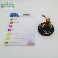 Heroclix Crisis set Boy Wonder #062 Limited Edition figure w/card!