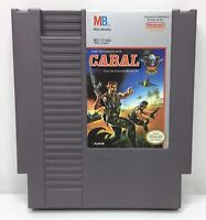 Nintendo NES Cabal Video Game Cartridge *Authentic/Cleaned/Tested*