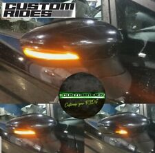 FORD FIESTA MK7 & MK6 08-17 LED Dynamic Indicator sequential Lights Black Gloss