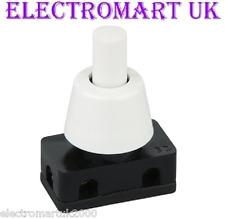 Miniatura Mini 2A 2 Amp en Off interruptor de prensa 240V pulsador de Red Lámpara Luz