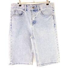 Elevenparis ONCE paris mujer vaqueros cortos pantalones azules W30 NP 79 NUEVO