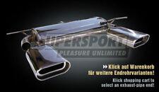 SEAT Leon Coupé 1p anno 05 - 2.0fsi Supersport Acciaio Inox Duplex silenziatore di scarico