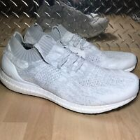 Adidas UltraBoost Uncaged Running Shoes White Tint Gray Silver SZ ( DA9157 ) NEW