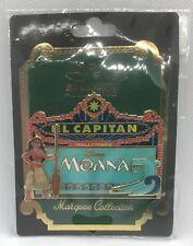 Pin 119025 DSSH El Capitan Marquee Moana Disney Studio Store Hollywood LE 400