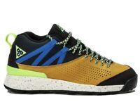 Size 4 Nike Okwahn II 525367-301 Sequoia boys ACG Hiking Trail Shoes Black Blue