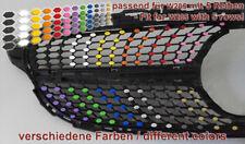 Farbige Aufkleber Folien Decals für Mercedes C-Klasse W205 Urban- Diamantgrill