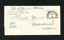 """Bayern - """"Postablage - Wiersberg"""" Klarer L2 von 1868   (#1649)"""