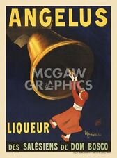 "CAPPIELLO LEONETTO - ANGELUS LIQUEUR, 1907 - ART PRINT POSTER 14"" X 11"" (3148)"