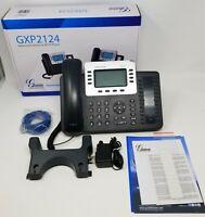 Grandstream GS-GXP2124 Enterprise 4-Line HD IP Desk/VoIP Phone - Ready to use!