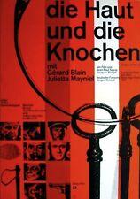 La PEAU ET LES OS German A1 movie poster 1961 NOUVELLE VAGUE NM
