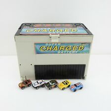Vintage Galoob Micro Machines Battery Secret Auto Supplies Playset Lot 5 Cars