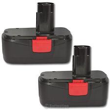 2  19.2V 2.0AH Ni-Cd Battery for Craftsman C3 19.2-Volt Cordless Tool Drill