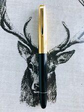 Aurora 88P piston fill fountain pen, 14k M nib, serviced.Rare no serial number