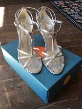 Karen Millen Shoes Size 5 Silver High Heel Sandals Size 38